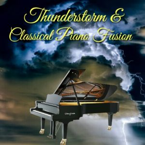 relaxing music download mp3. classical piano and thunderstorm