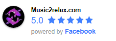 5 star music review on facebook. relaxing mp3 music